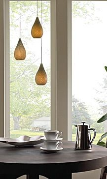 Pendant lights for above the kitchen bar