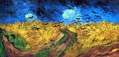Frases y citas célebres: Vincent van Gogh | Trigal con cuervos, (1890)