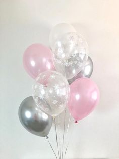 Chrome Silver Pink White Snowflake Latex Balloons Winter Onederland First Birthday Winter Bridal Shower Winter Wonderland Baby Shower Pink Baby Shower Cake Decorations, Girls Party Decorations, Baby Shower Cakes For Boys, Baby Shower Themes, Shower Ideas, Winter Wonderland Party, Winter Onederland, First Birthday Winter, Baby Shower Game Prizes