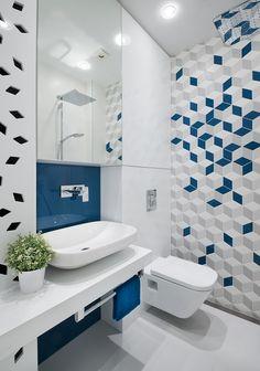 Bathroom wall tiles, bath room tile ideas, bathroom tile designs, b Modern Bathroom Tile, Bathroom Tile Designs, Modern Bathroom Design, Bathroom Colors, Bathroom Flooring, Bathroom Interior Design, Bathroom Ideas, Colorful Bathroom, Mirror Bathroom