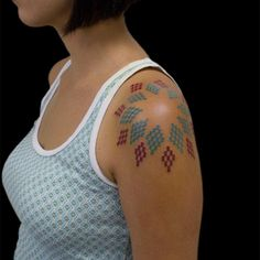 Geometric Tattoo Design By Brian Ragusin
