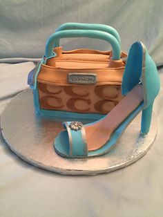Coach Purse Cake and Shoe
