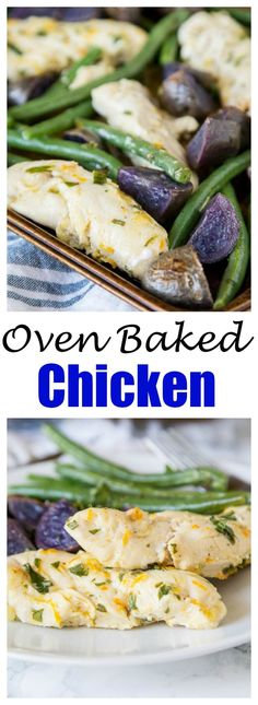 Oven Baked Chicken a