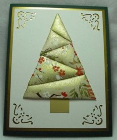 Inkerbel's Inklings: Quilted Washi Paper Cards. Washi paper cards - re-Pinned by HankoDesigns.Com
