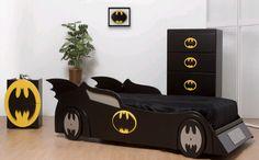 bat man kids bed ideas