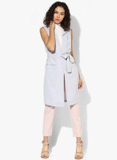 Vesta lunga dama stofa eleganta Jumpsuit, Dresses For Work, Casual, Fashion, Jacket, Overalls, Moda, Fashion Styles, Jumpsuits
