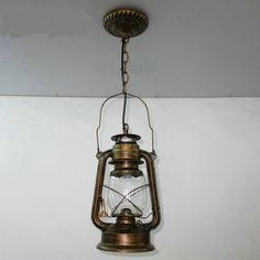 The PENDANT Of Restoring Ancient Ways Chandelier European Single Head Lantern Chandeliers Lamps Retro Nostalgia Light Bar