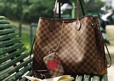 Classic LV Neverfull Shopping Tote