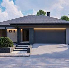 Home Building Design, Home Design Plans, Building A House, House Plans Mansion, New House Plans, House Construction Plan, Beautiful House Plans, Front Yard Design, Castle House