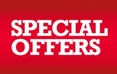 See Our Latest Special Offers