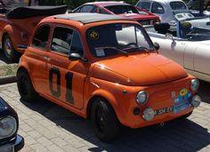 Not the General Lee Fiat Cinquecento