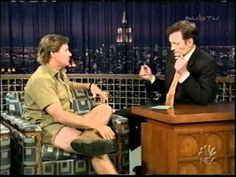 Steve Irwin on Conan. A man of true passion who was literally willing to die doing what he loved. How can you not be inspired by this guy's energy?
