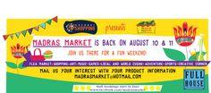 #MadrasMarket #FullHouseEntertainment #Fun #ShoppingFest  #Entertainment #Chennai #Celebration #Stalls #Food #Music