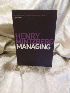 2011 Henry Mintzberg Managing Textbook College #Textbook