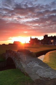 St. Andrews next to the North Sea in Scotland.