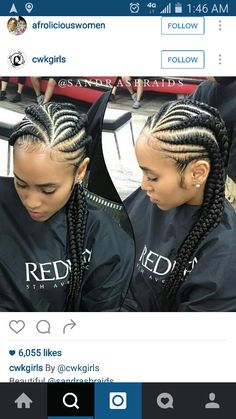 Ghana braids are growing in popularity and are a wonderful style. Check out these unique & hip styles of Ghana braids/Banana braids for your next braids hairdo! # unique ghana Braids 40 Hip and Beautiful Ghana Braids Styles Ghana Braids Hairstyles, African Hairstyles, Braided Hairstyles, Black Hairstyles, Hairstyles 2018, Winter Hairstyles, Protective Hairstyles, Ghana Cornrows, Cornrows Hair