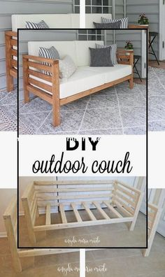 Most affordable and simple garden furniture ideas 1 old pallets coach pin by stephanie vogel on diy mbel in 2020 diy pallet furniture wood pallet Diy Storage Furniture, Diy Furniture Couch, Diy Garden Furniture, Simple Furniture, Diy Outdoor Furniture, Furniture Projects, Furniture Plans, Furniture Making, Furniture Makeover