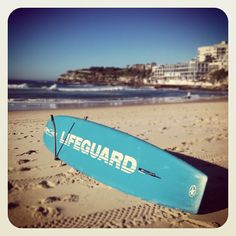 A shot in front of a life guard surfboard or the life guard tower would be a… Bondi Beach Australia, Bondi Beach Sydney, Sydney Beaches, Sydney Australia, Live Love Life, The Life, Beach Lifeguard, Sand Play, Famous Beaches