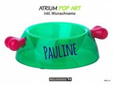 Wasser- & Futternäpfe für Hunde & KatzenBellomania Hundenapf: Knochen Atrium POP ART -Bay- inkl. Wunschdruck