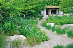 Vprípade moderných záhrad je