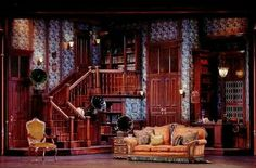 My Fair Lady at the Welk. Set design by Andrew Hammer.