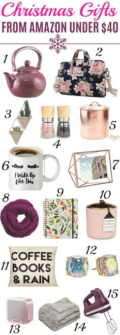 BEST Christmas Gift Ideas For Women, Cute Christmas Gifts For Her