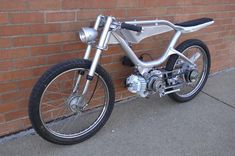 CycleGrid: CUSTOM MOPED/SCOOTER