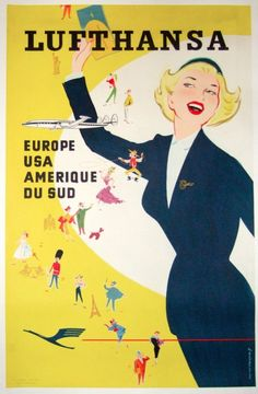Awesome Vintage and Classic Airline Travel Posters Travel Ads, Airline Travel, Air Travel, Travel Photos, Vintage Advertisements, Vintage Ads, Vintage Airline, Poster Ads, Advertising Poster