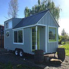 Tiny home from the Tumbleweed Tiny House Co.