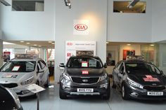 Our branch on #FeederRoad has had a #makeover! We will now be a Kia Motors UK only dealership, so our Alfa Romeo UK #showroom has gone and is now a place for us to show off our #Kia #ApprovedUsedCars! Here's some before, during and after photos for you smile emoticon