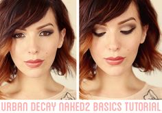 Makeup Monday: Urban Decay Naked2 Basics Tutorial