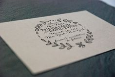 5 x 5 Custom Designed Save the Date Rubber Stamp by sdstationery, $110.00