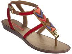 Grendha Ivete Sangalo Tesouros Sand (Grendha Sangalo Sandals)
