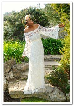 Bohemian Wedding Dresses With Sleeves - wedding dresses : Wedding ...