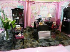 OOAK Barbie Home Office