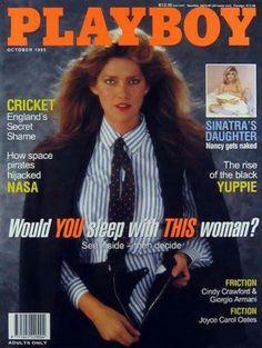TULA CAROLINE COSSEY   PLAYBOY MAGAZINE  OCTOBER, 1995 COVER