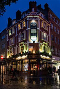 "Photograph London pub by Ewa Gros on 500px London's Pub ""The White Lion"""