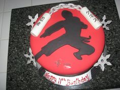 ninja birthday cake ideas - Google Search