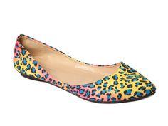 Multi Colored Leopard Flats by Fiebiger from Elise Loehnen on OpenSky