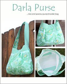 Image of The Darla Purse Pattern - PDF Sewing Pattern