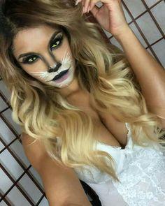 karneval Make lion costume yourself Costume idea for carnival, Halloween & carnival Wedding Planner Lion Halloween, Cat Halloween Makeup, Halloween Looks, Halloween Costumes, Fairy Costumes, Lion Makeup, Animal Makeup, Kitty Makeup, Makeup Geek