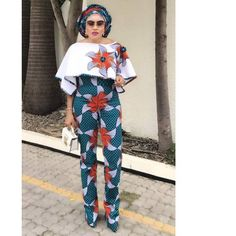 Online Hub For Fashion Beauty And Health: Creatively Stylish Ankara Jumpsuit For The Elegant...