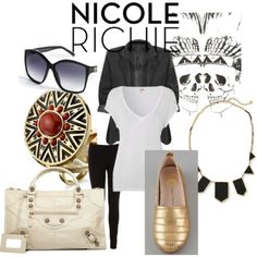 Nicole Richie style @ polyvore