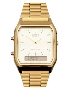 Enlarge Casio AQ-230GA-9DMQYES Digital Bracelet Watch. Features: Alarm, Backlight, Calander, Date, Stopwatch. 27 mm wide. $94.75