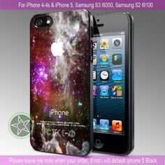 Galaxy Nebula Stars Hot Design iPhone 4/4S/5, Samsung S4/S3/S2 case cover   sedoyoseneng - Accessories on ArtFire