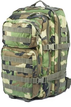 Mil-Tec Military Army Patrol Molle Assault Pack Tactical Combat Rucksack Backpack Bag 36L Woodland Camo - http://emergencysurvival.supply/?product=mil-tec-military-army-patrol-molle-assault-pack-tactical-combat-rucksack-backpack-bag-36l-woodland-camo