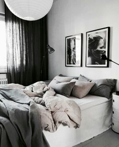 Minimalist Home Bedroom Grey feminine minimalist decor home office.Minimalist Kitchen Tiny Small Spaces minimalist home closet apartment therapy.Minimalist Home Bedroom Grey. Interior Design Minimalist, Minimalist Bedroom, Minimalist Home, Bedroom Inspo, Home Decor Bedroom, Bedroom Neutral, Neutral Bedding, Bedroom Curtains, Bedroom Chair