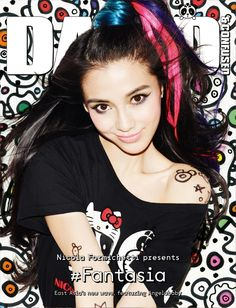 Angelababy for Dazed & Confused December 2012 - #Fantasia! Guest Edited by Nicola Formichetti