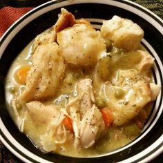 Chicken and Dumplings Recipe Main Dishes with boneless chicken ...