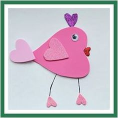 This is adorable!  heart bird - Brenin will love to make this
